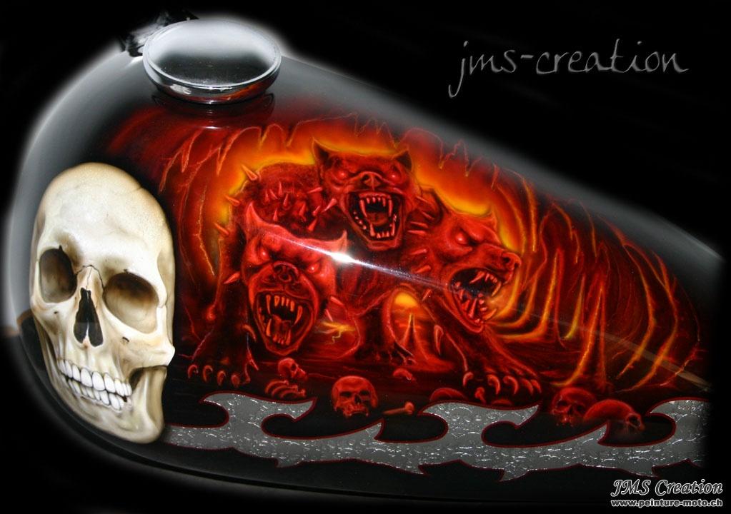 Peinture Moto Airbrush Jms Creation